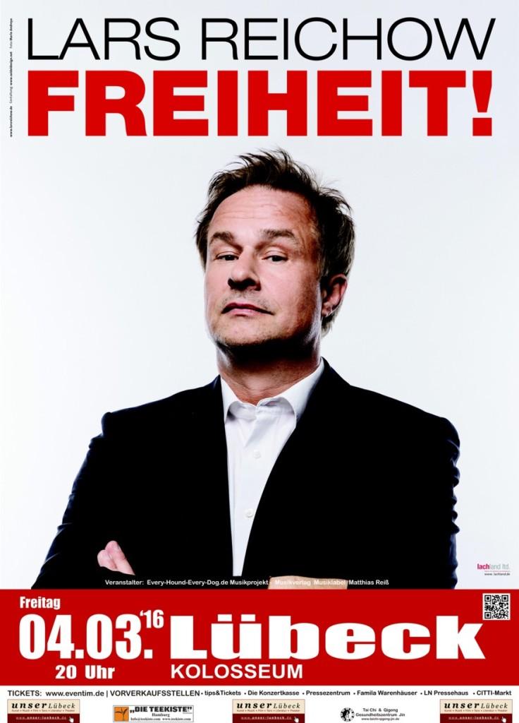Benefiz für Flüsterpost e.V. mit Lars Reichow - 04.03.16 Lübeck